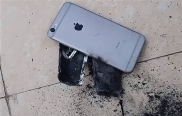 iPhone 6s explosion